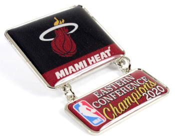 Miami Heat 2020 Eastern Conference Champs Dangler Pin