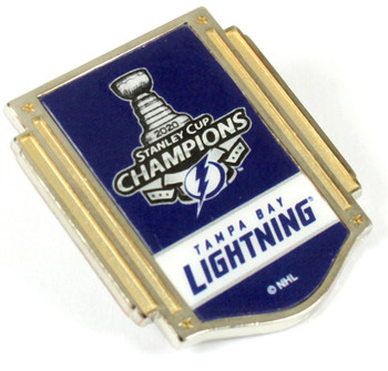 Tampa Bay Lightning 2020 Stanley Cup Champions Pin