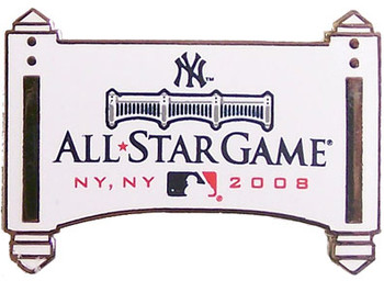 2008 MLB All-Star Game Logo Pin - Yankee Stadium Facade