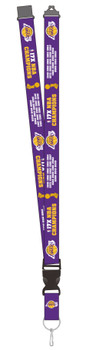 Los Angeles Lakers 2020 17-Time NBA Champs Lanyard