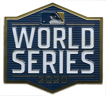 """2020 World Series Embosstech PATCH - 4"""""""