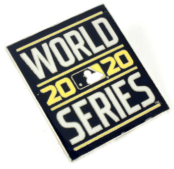 2020 World Series Logo Pin