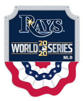Tampa Bay Rays 2020 World Series Pin / AL Champs Pins