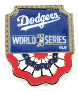 Los Angeles Dodgers 2020 World Series Pin