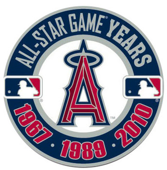 2010 MLB All-Star Game Angels Host Years Pin