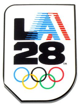 """Los Angeles 2028 Olympics 1984 """"A"""" Logo Pin"""