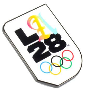 "Los Angeles 2028 Olympics Script ""A"" Logo Pin"