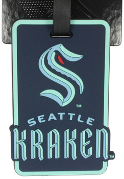 Seattle Kraken Luggage Bag Tag
