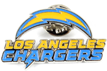 Los Angeles Chargers Logo Pin.