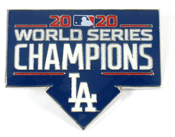 Los Angeles Dodgers 2020 World Series Champions Pin