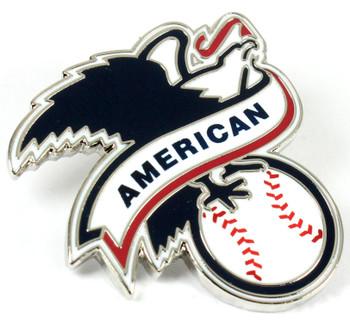 MLB American League Logo Pin