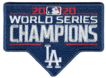 Los Angeles Dodgers 2020 World Series Champs PATCH - 3.5""