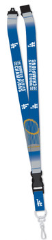 Los Angeles Dodgers 2020 World Series Champs Lanyard