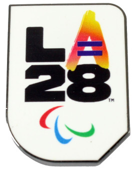 "Los Angeles 2028 Olympics Equality ""A"" Logo Pin"