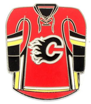 Calgary Flames Jersey Pin
