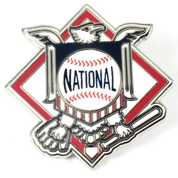 MLB National League Logo Pin