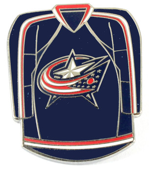 Columbus Blue Jackets Jersey Pin
