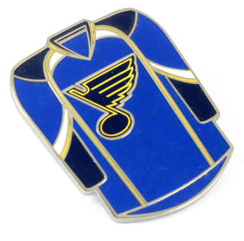 St. Louis Blues Jersey Pin