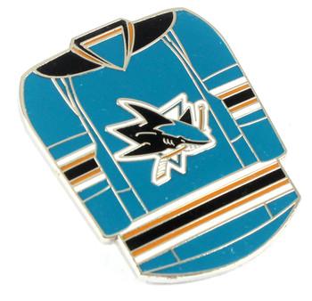 San Jose Sharks Jersey Pin