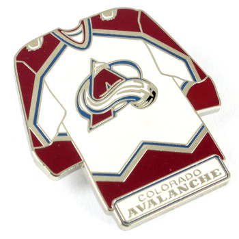 Colorado Avalanche Jersey Pin.