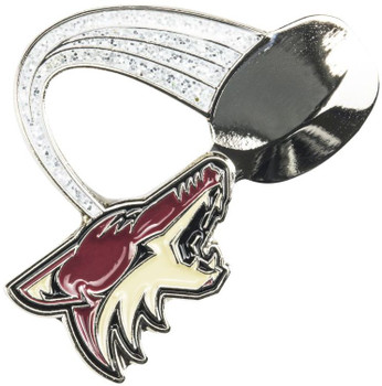 Arizona Coyotes Glitter Trail Pin