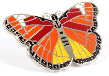 Monarch Butterfly Lapel Pin