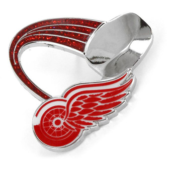 Detroit Red Wings Glitter Trail Pin