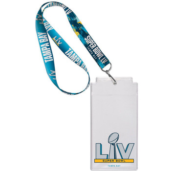 Super Bowl LV (55) Lanyard w/ Ticket Holder