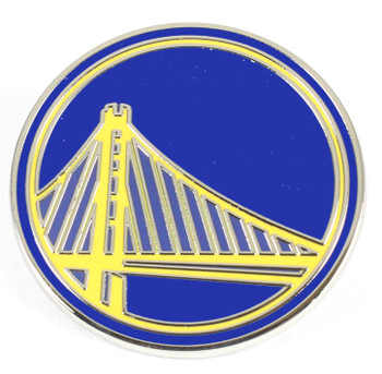 Golden State Warriors Bridge Logo Pin
