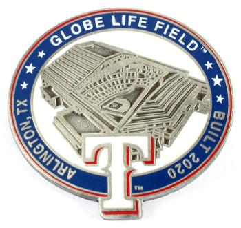 Globe Life Field Pin - Arlington, TX / Built 2020 - Limited 1,000