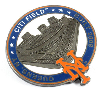New York Mets Citi Field Pin - Queens, NY / Built 2009 - Limited 1,000