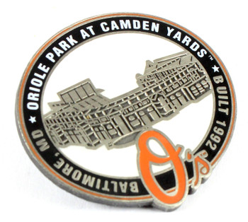 Oriole Park at Camden Yards Pin - Baltimore, MD / Built 1992- Limited 1,000