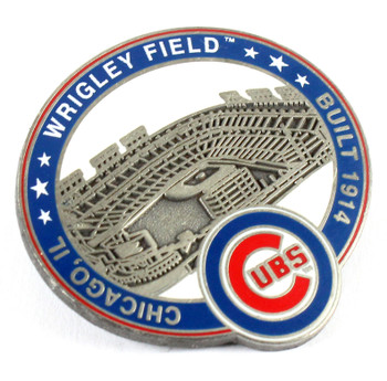 Chicago Cubs Wrigley Field Pin - Chicago, IL / Built 1914- Limited 1,000