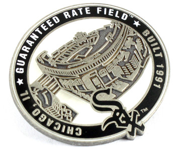 Chicago White Sox Guaranteed Rate Field Pin - Chicago, IL / Built 1991- Limited 1,000