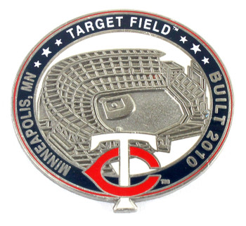 Minnesota Twins Target Field Pin - Minneapolis, MN / Built 2010- Limited 1,000