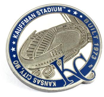 Kansas City Royals Kauffman Stadium Pin - Kansas City, MO / Built 1973- Limited 1,000