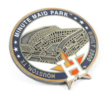 Houston Astros Minute Maid Park Pin - Houston, TX / Built 2000- Limited 1,000