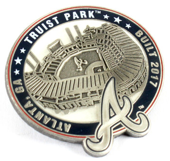 Atlanta Braves Truist Park Pin - Atlanta, GA / Built 2017- Limited 1,000