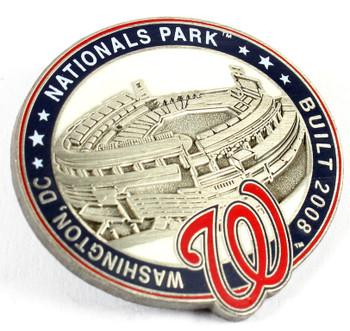 Washington Nationals National Park Pin - Washington D. C.  / Built 2008- Limited 1,000