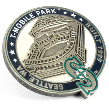 Seattle Mariners T-Mobile Park Pin - Seattle, WA / Built 1999- Limited 1,000