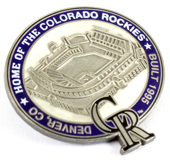 Colorado Rockies Coors Field Pin - Denver, CO / Built 1995- Limited 1,000