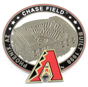 Arizona Diamondbacks Chase Field Pin - Phoenix, AZ / Built 1998- Limited 1,000