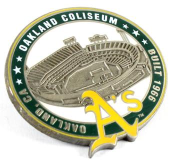 Oakland A's Oakland Coliseum Pin - Oakland, CA / Built 1966 - Limited 1,000