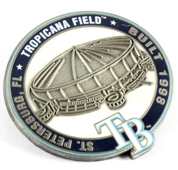 Tampa Bay Ray Tropicana Park Pin - St. Petersburg, FL / Built 1998 - Limited 1,000