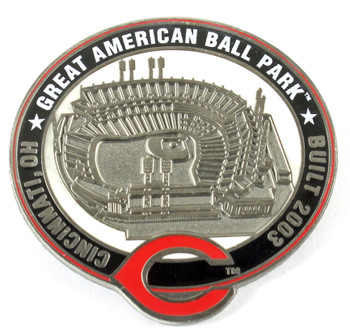 Cincinnati Reds Great American Ball Park Pin - Cincinnati, OH / Built 2003- Limited 1,000