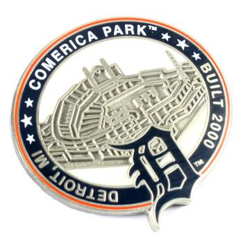Detroit Tigers Comerica Park Pin - Detroit, MI / Built 2000 - Limited 1,000