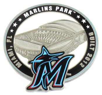 Miami Marlins Park Pin - Miami, FL / Built 2012 - Limited 1,000