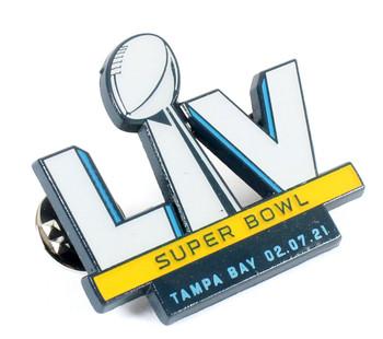 Super Bowl LV (55) Logo Pin w/ Date