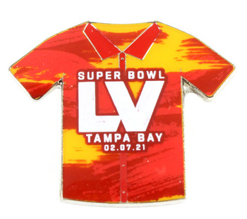 Super Bowl LV (55) Shirt Pin w/ Date