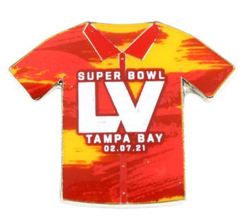 Super Bowl LV (55) Shirt Pin w/ Date